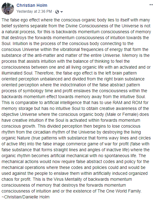 The False Ego Effect That Destroys The Activated Soul